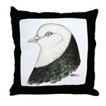 West of England Pigeon Throw Pillow
