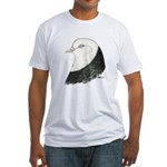 West of England Pigeon Fitted T-Shirt