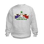 Feliz Navidad Kids Sweatshirt