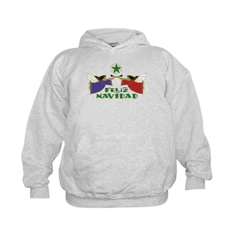 Feliz Navidad Kids Hoodie