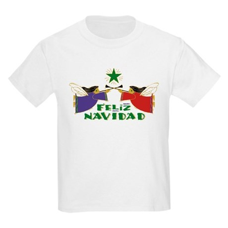 Feliz Navidad Kids Light T-Shirt