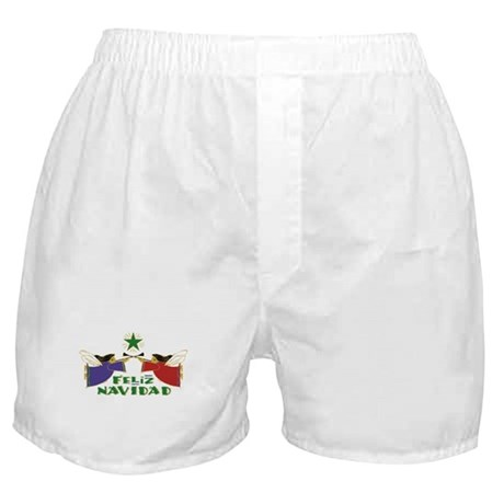Feliz Navidad Boxer Shorts