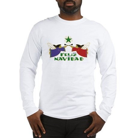 Feliz Navidad Long Sleeve T-Shirt