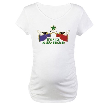 Feliz Navidad Maternity T-Shirt