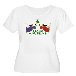 Feliz Navidad Women's Plus Size Scoop Neck T-Shirt