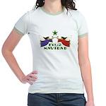 Feliz Navidad Jr. Ringer T-Shirt