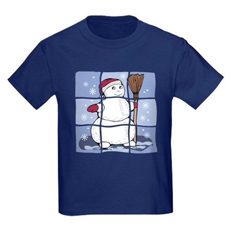Snowman Kids Dark T-Shirt