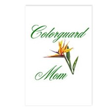 Colorguard Mom Postcards (Package of 8)
