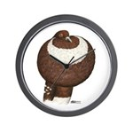 Pouter Pigeon Wall Clock
