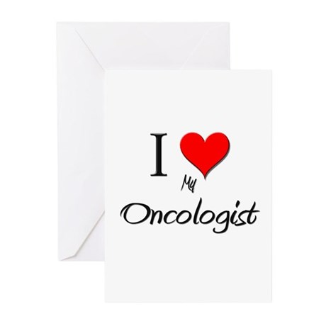 I Love My Oncologist Greeting Cards (Pk of 10)