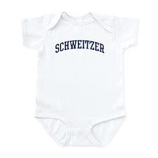 SCHWEITZER design (blue) Infant Bodysuit