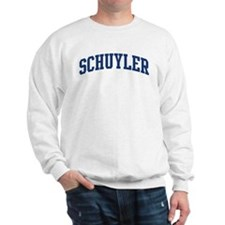 SCHUYLER design (blue) Jumper
