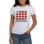 I Love My Husband Women's T-Shirt