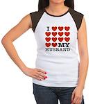 I Love My Husband Women's Cap Sleeve T-Shirt
