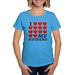 I Love My Husband Women's Dark T-Shirt