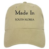 Made In South Korea Baseball Cap