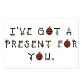 I've Got a Present for You Postcards (Package of 8