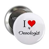 "I Love My Oenologist 2.25"" Button (10 pack)"