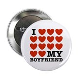 "I Love My Boyfriend 2.25"" Button"