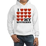 I Love My Boyfriend  Hoodie