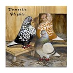Domestic Flights Three Tile Coaster