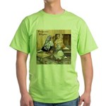 Domestic Flights Three Green T-Shirt