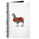 Holiday Llama Journal