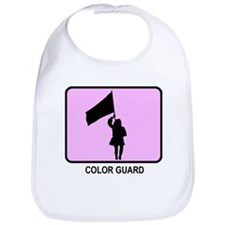 Color Guard (pink) Bib