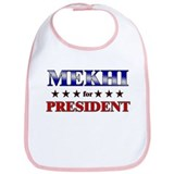 MEKHI for president Bib