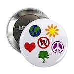 Six Symbols Against Bush Button