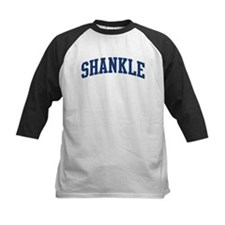SHANKLE design (blue) Tee