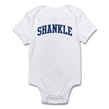 SHANKLE design (blue) Infant Bodysuit