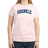 SHANKLE design (blue) T-Shirt