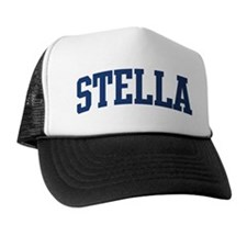 STELLA design (blue) Trucker Hat