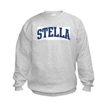 STELLA design (blue) Sweatshirt