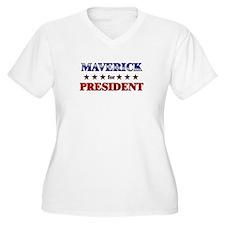 MAVERICK for president T-Shirt