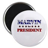 MARVIN for president Magnet