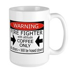 Personalized FIRE FIGHTER Large Mug
