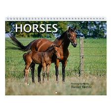 Horses Wall Calendar
