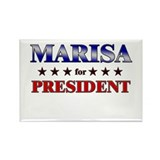 MARISA for president Rectangle Magnet (10 pack)