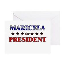 MARICELA for president Greeting Card
