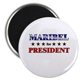 MARIBEL for president Magnet