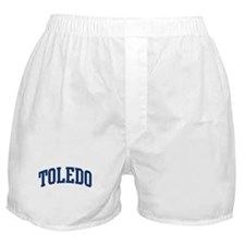 TOLEDO design (blue) Boxer Shorts