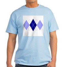Argyle Blues Triple T-Shirt