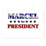 MARCEL for president Postcards (Package of 8)