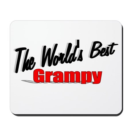 """The World's Best Grampy"" Mousepad"