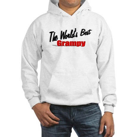 """The World's Best Grampy"" Hooded Sweatshirt"