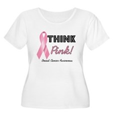 Think Pink Breast Cancer T-Shirt
