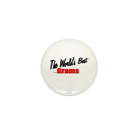 """The World's Best Grams"" Mini Button"