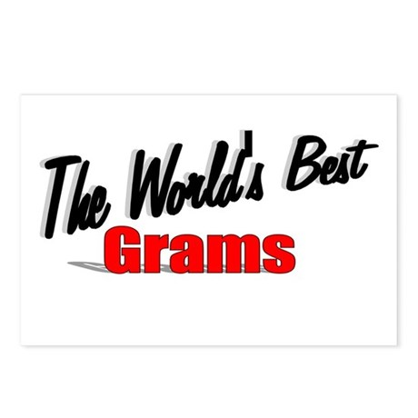 """The World's Best Grams"" Postcards (Package of 8)"